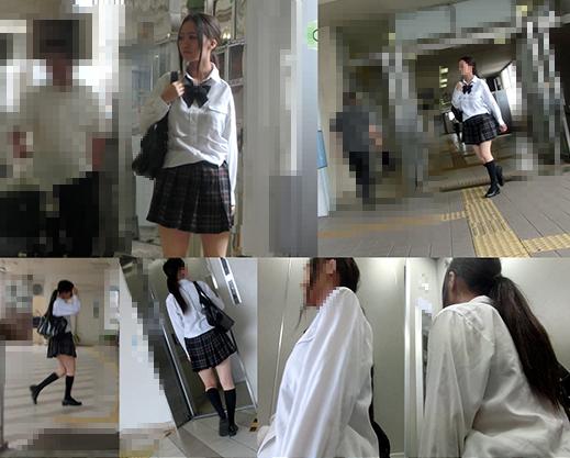 エレベーター痴漢12
